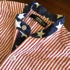 NEVER WORN Stars and Stripes Romphim
